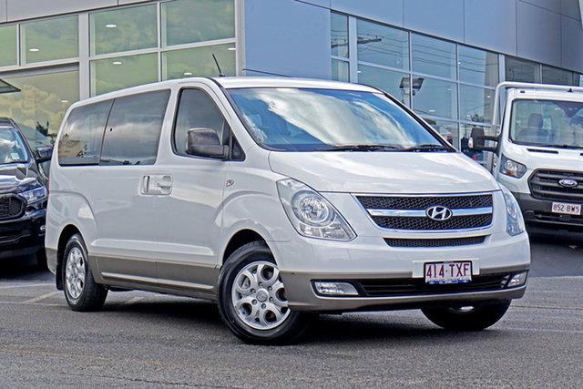 Used Hyundai iMAX TQ-W MY13 Springwood, 2014 Hyundai iMAX TQ-W MY13 White 5 Speed Automatic Wagon