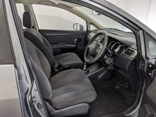 2012 Nissan Tiida C11 S3 ST Grey 4 Speed Automatic Sedan