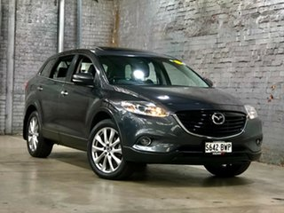2013 Mazda CX-9 TB10A5 Luxury Activematic Black 6 Speed Sports Automatic Wagon.