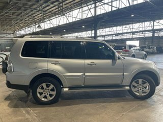 2006 Mitsubishi Pajero NP MY06 VR-X Silver 5 Speed Sports Automatic Wagon
