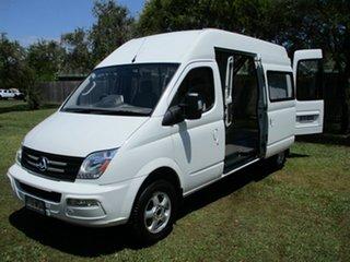 2016 LDV V80 High Roof LWB White 6 Speed Automated Manual Van