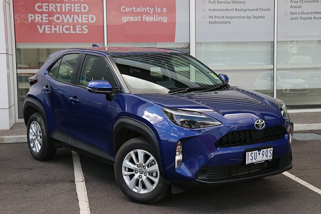 Pre-Owned Toyota Yaris Cross MXPB10R GX 2WD South Morang, 2020 Toyota Yaris Cross MXPB10R GX 2WD Lunar Blue 10 Speed Constant Variable Wagon