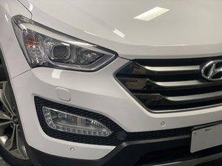2014 Hyundai Santa Fe DM2 MY15 Highlander Cream 6 Speed Sports Automatic Wagon.