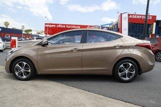 2015 Hyundai Elantra MD3 Active Brown 6 Speed Sports Automatic Sedan.