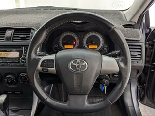 2013 Toyota Corolla ZRE152R Ascent Sport Silver 4 Speed Automatic Sedan