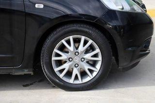 2010 Honda Jazz GE MY10 VTi Black 5 Speed Manual Hatchback