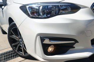2018 Subaru Impreza MY21 2.0I-L White Continuous Variable Sedan.