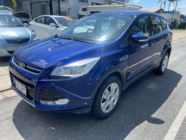 Used Ford Kuga TF MY15 Ambiente AWD Clontarf, 2014 Ford Kuga TF MY15 Ambiente AWD Blue 6 Speed Sports Automatic Wagon