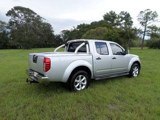 2013 Nissan Navara D40 Silver Automatic Dual Cab.