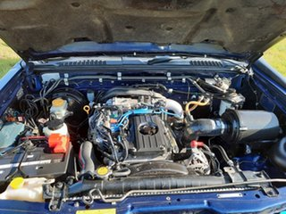 2005 Nissan Navara Blue Manual Dual Cab