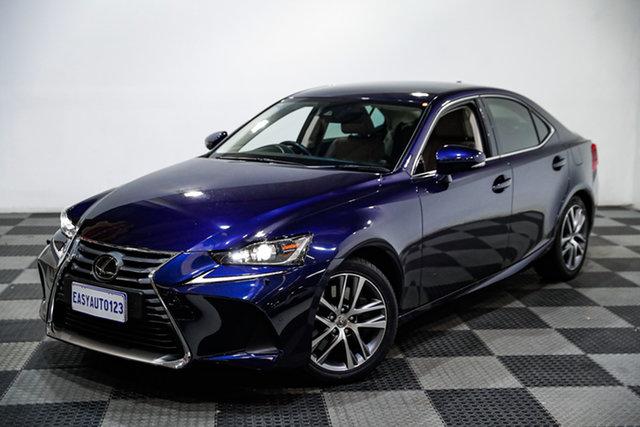 Used Lexus IS ASE30R IS200t Luxury Edgewater, 2017 Lexus IS ASE30R IS200t Luxury Blue 8 Speed Sports Automatic Sedan