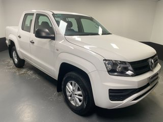 2018 Volkswagen Amarok 2H MY19 TDI420 4MOTION Perm Core White 8 Speed Automatic Utility.