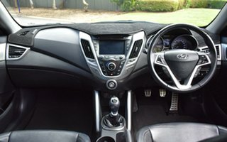 2013 Hyundai Veloster FS2 + Coupe Yellow 6 Speed Manual Hatchback.