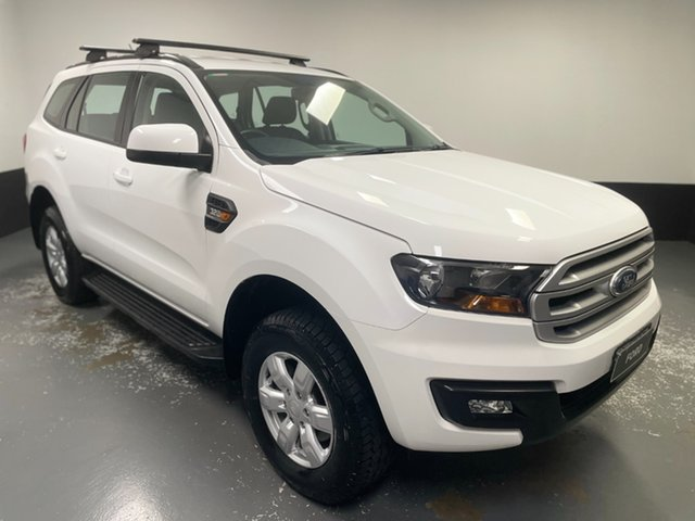 Used Ford Everest UA Ambiente Hamilton, 2017 Ford Everest UA Ambiente White 6 Speed Sports Automatic SUV