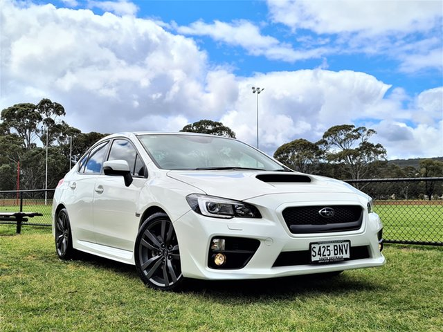 Used Subaru WRX V1 MY17 Premium Lineartronic AWD St Marys, 2016 Subaru WRX V1 MY17 Premium Lineartronic AWD White 8 Speed Constant Variable Sedan