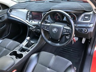 2015 Holden Ute VF MY15 SV6 Ute Storm Red 6 Speed Manual Utility