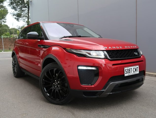 Used Land Rover Range Rover Evoque L538 MY16 HSE Dynamic Reynella, 2015 Land Rover Range Rover Evoque L538 MY16 HSE Dynamic Red 9 Speed Sports Automatic Wagon