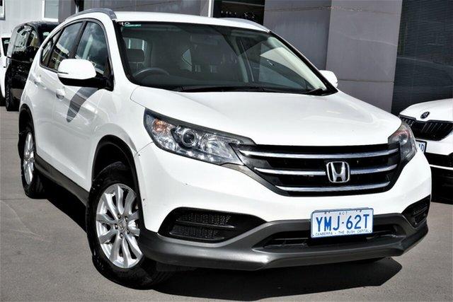 Used Honda CR-V RM MY14 VTi 4WD Phillip, 2013 Honda CR-V RM MY14 VTi 4WD White 5 Speed Sports Automatic Wagon