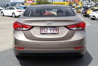 2015 Hyundai Elantra MD3 Active Brown 6 Speed Sports Automatic Sedan