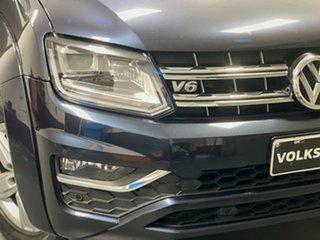 2017 Volkswagen Amarok 2H MY18 TDI550 4MOTION Perm Highline Starlight Blue 8 Speed Automatic Utility.