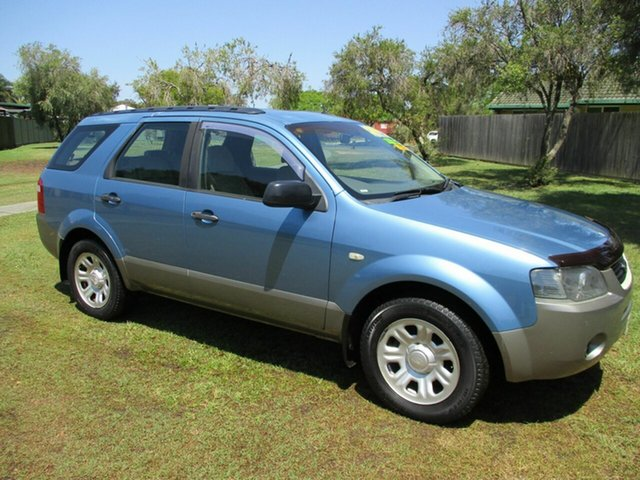 Used Ford Territory SY TS Kippa-Ring, 2006 Ford Territory SY TS Blue 4 Speed Sports Automatic Wagon