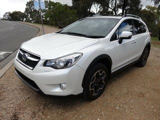 2013 Subaru XV G4X MY13 2.0i-S AWD White 6 Speed Manual Wagon.