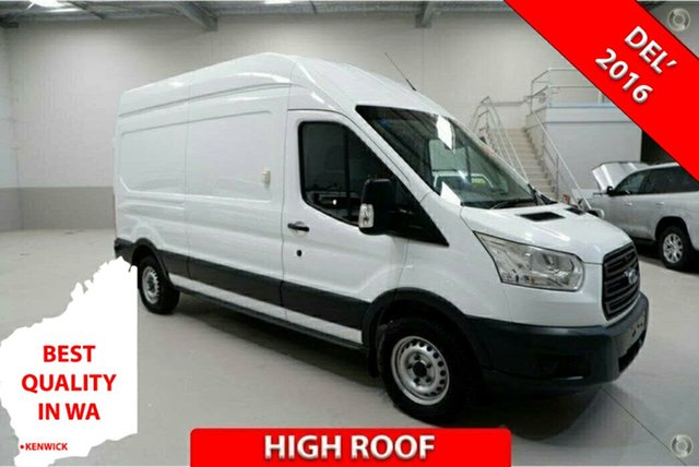 Used Ford Transit VO MY14.5 350L LWB High Roof Kenwick, 2015 Ford Transit VO MY14.5 350L LWB High Roof White 6 Speed Manual Van