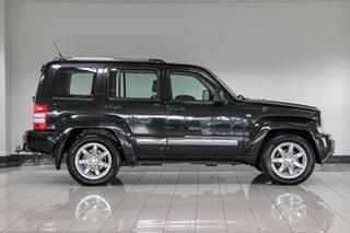 2011 Jeep Cherokee KK MY11 Limited Black 4 Speed Automatic Wagon.