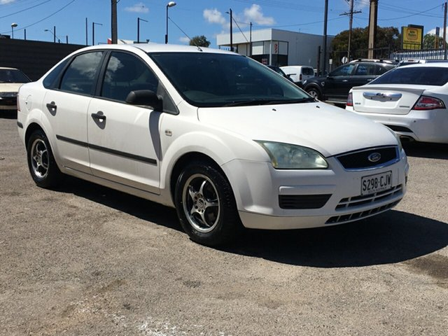 Used Ford Focus LS CL Blair Athol, 2006 Ford Focus LS CL White 4 Speed Sports Automatic Sedan