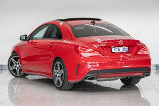 2014 Mercedes-Benz CLA-Class C117 CLA250 DCT 4MATIC Sport Jupiter Red 7 Speed