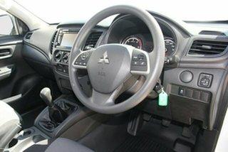 2021 Mitsubishi Triton MR MY21 GLX 4x2 White 5 Speed Manual Cab Chassis