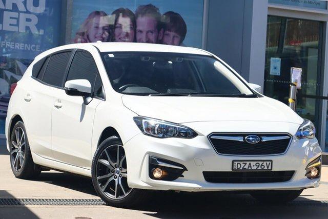 Used Subaru Impreza MY18 2.0I-L (AWD) Rosebery, 2018 Subaru Impreza MY18 2.0I-L (AWD) White Continuous Variable Hatchback