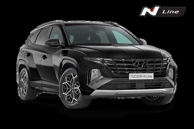 New Hyundai Tucson Hamilton, 2021 Hyundai Tucson NX4.V1 Elite N-Line Phantom Black 8 Speed Automatic SUV