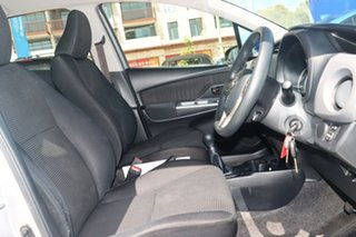 2015 Toyota Yaris NCP130R MY15 Ascent Silver 5 Speed Manual Hatchback
