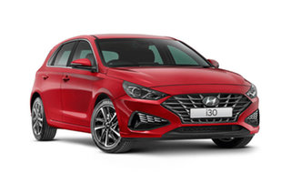 2021 Hyundai i30 PD.V4 Active Fiery Red 6 Speed Automatic Hatchback