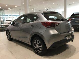 2017 Mazda 2 DJ2HAA Neo SKYACTIV-Drive Aluminium/dag Black 6 Speed Sports Automatic Hatchback