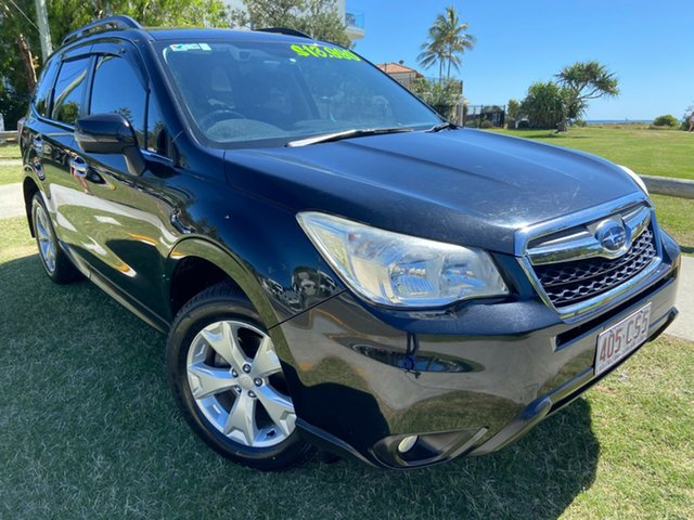 Used Subaru Forester S4 MY13 2.5i-L Lineartronic AWD Tugun, 2013 Subaru Forester S4 MY13 2.5i-L Lineartronic AWD Black 6 Speed Constant Variable Wagon