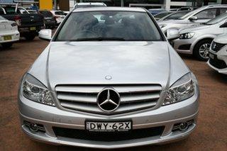 2008 Mercedes-Benz C200 W204 Kompressor Classic Silver 5 Speed Automatic Tipshift Sedan