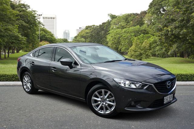 Used Mazda 6 GL1031 Sport SKYACTIV-Drive Paradise, 2017 Mazda 6 GL1031 Sport SKYACTIV-Drive Grey 6 Speed Sports Automatic Sedan