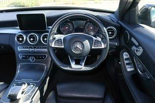 2018 Mercedes-Benz C-Class W205 808MY C200 9G-Tronic Black 9 Speed Sports Automatic Sedan