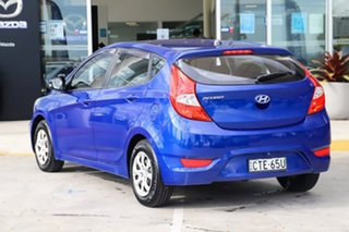 2014 Hyundai Accent RB2 Active Blue 4 Speed Sports Automatic Hatchback.