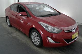 2015 Hyundai Elantra MD3 SE Red 6 Speed Sports Automatic Sedan.