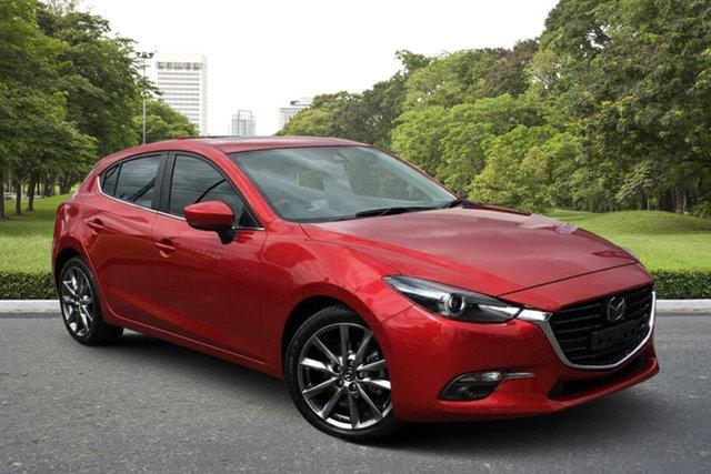 Used Mazda 3 BN5436 SP25 SKYACTIV-MT Astina Paradise, 2017 Mazda 3 BN5436 SP25 SKYACTIV-MT Astina Red 6 Speed Manual Hatchback
