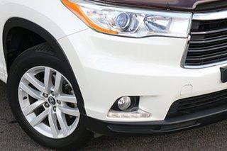 2016 Toyota Kluger GSU55R GX AWD White 6 Speed Sports Automatic Wagon.
