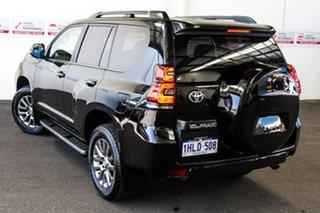 2018 Toyota Landcruiser Prado GDJ150R Kakadu Eclipse Black 6 Speed Sports Automatic Wagon.