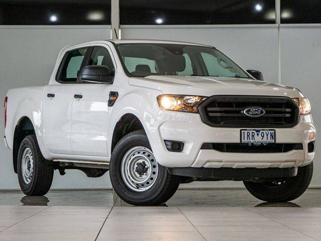 Used Ford Ranger PX MkIII 2020.25MY XL Deer Park, 2020 Ford Ranger PX MkIII 2020.25MY XL Arctic White 6 Speed Sports Automatic Double Cab Pick Up