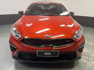 2021 Kia Cerato BD MY21 GT DCT Orange 7 Speed Sports Automatic Dual Clutch Sedan.