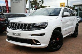 2015 Jeep Grand Cherokee WK MY15 SRT 8 (4x4) White 8 Speed Automatic Wagon.