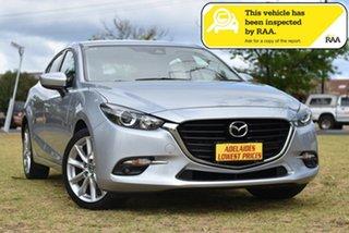 2016 Mazda 3 BN5436 SP25 SKYACTIV-MT Silver 6 Speed Manual Hatchback.