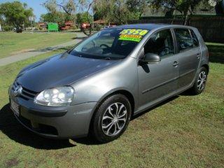 2007 Volkswagen Golf V MY07 Comfortline Tiptronic Grey 6 Speed Automatic Hatchback.